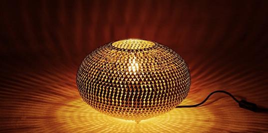 Kashir Table Lamp Brass