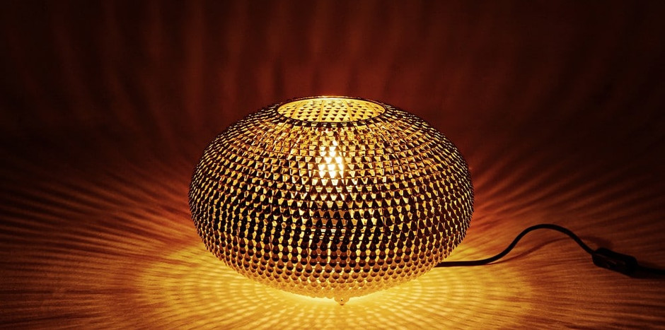 Kashir Table Lamp Brass