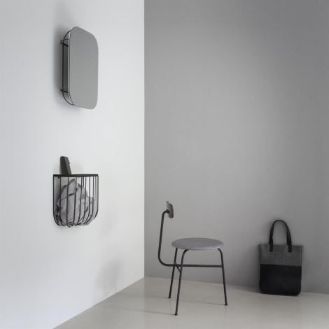 Update your hallway with the smart and stylish Cage shelf designed by the Swedish design studio Form Us With Love.