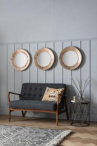 Aurelia Trio Round Mirrors