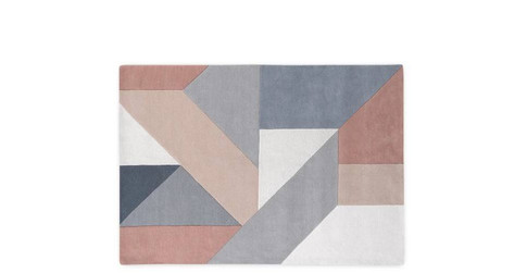 Holden Large Geometric Hand Tufted Wool