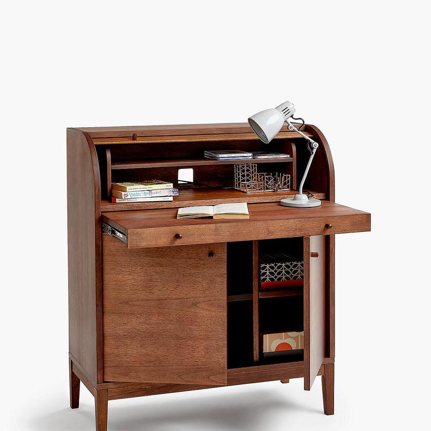 Grayson Bureau, Walnut desk. Home office desk. Writing desk
