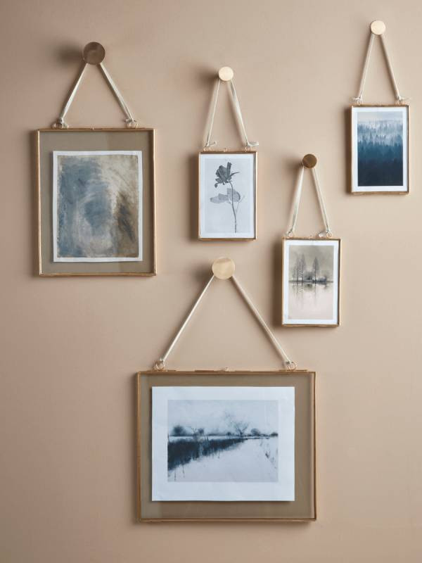 Matt Brass Hook. Picture wall ideas for living room. hanging pictures on walls ideas. photo wall design. picture hanging ideas for living room