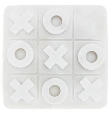 Akiko Marble Naughts and Crosses