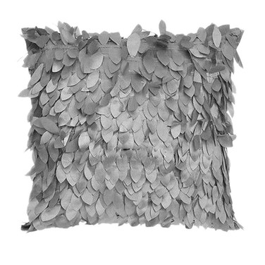 Grey 3D Design Cushion