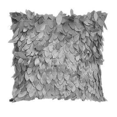 Grey 3D Design Cushion
