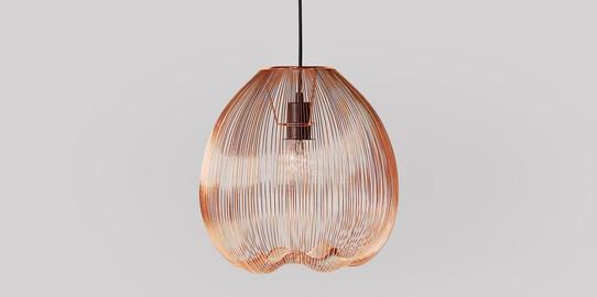 Obi Pendant Copper