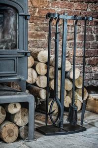 Ivyline Iron Fireside Companion Set