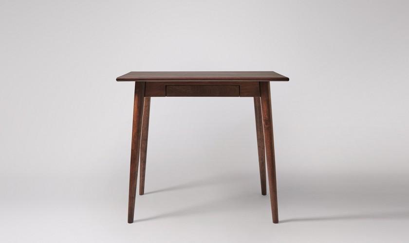 Ginsberg Desk, Dark Stained Mango Wood. Home office