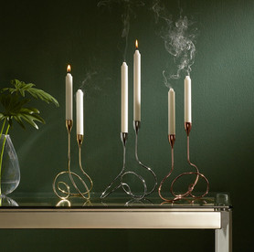 black+blum Loop Candelabra