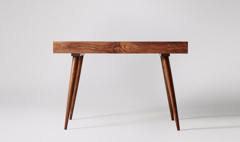 Watts Desk, Rosewood. Home office. Office furniture