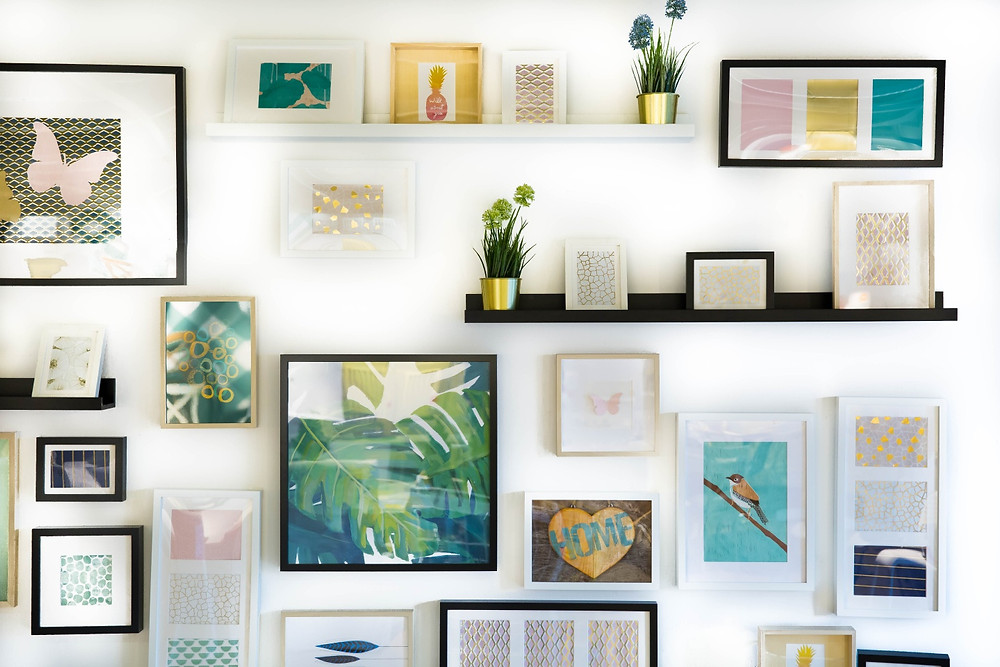 Easy Creative Feature Wall Ideas