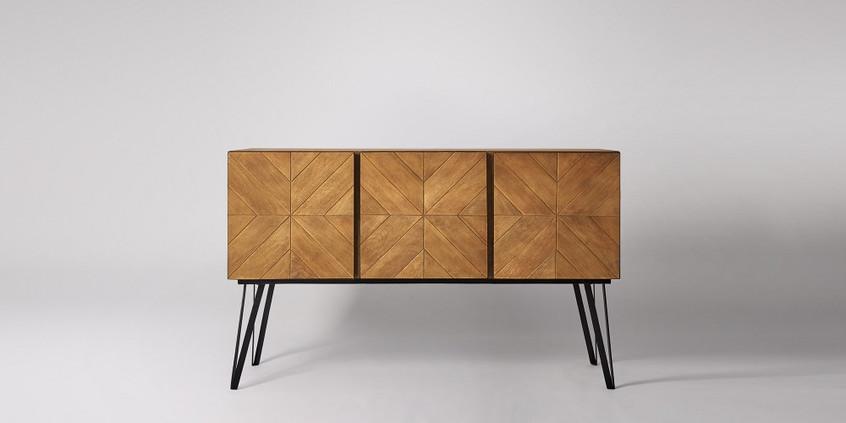 Scott Sideboard, Mango Wood. hallway design. foyer ideas