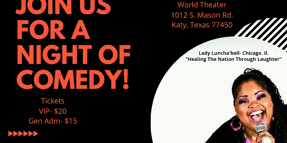 Family Comedy Night with Lady Lunch'abell from Chicago Il.