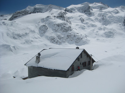 Winter Hütte 2