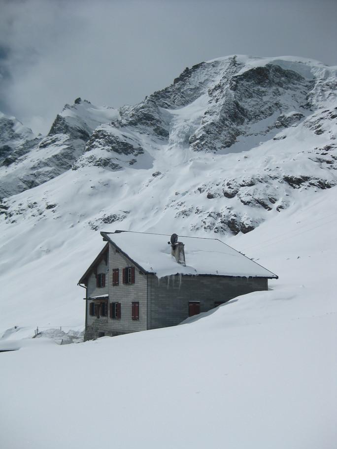 Winter Hütte 7