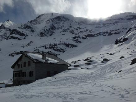 Winter Hütte 4