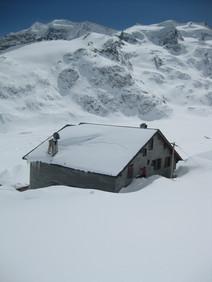 Winter Hütte 6