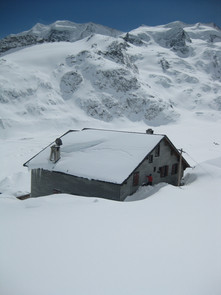 Winter Hütte 6