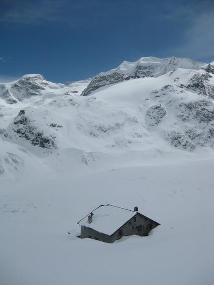 Winter Hütte 5
