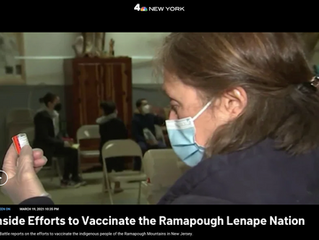 NBCNewYork.com: Inside Efforts to Vaccinate the Ramapough Lenape Nation