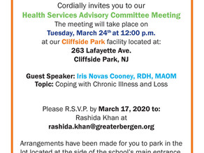 2020 Head Start/Early Head Start Health Advisory Meetings