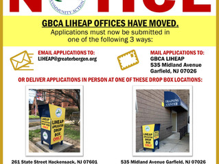 NOTICE: GBCA LIHEAP OFFICES HAVE MOVED