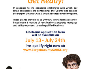 Bergen County CARES Small Business Grant Program