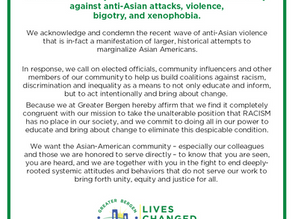 Statement of Solidarity Against Racism and Violence Towards the AAPI Community