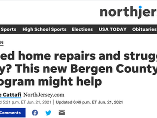 Northjersey.com: Need home repairs and struggling to pay? This new Bergen County program might help