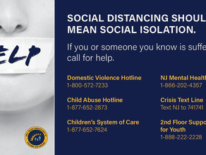 Social Distancing Shouldn't Mean Social Isolation - Call for Help