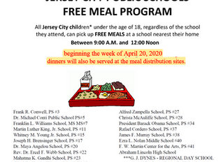 Jersey City Meal Distribution Update - April 21