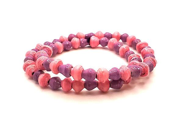 Wrist Choker Pink/Purple