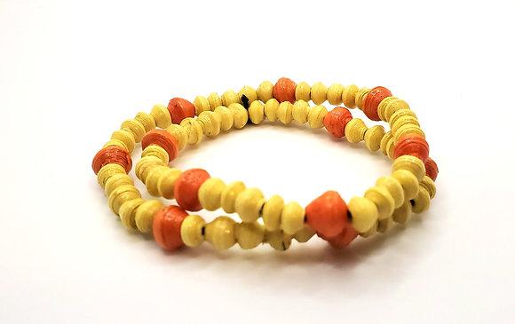 Wrist Choker Yellow/Orange