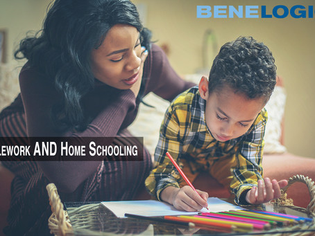 Teleworking + Home Schooling = The New Norm