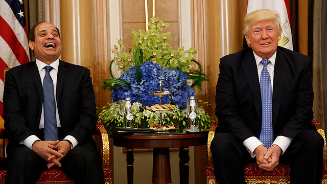 Trump and al-Sisi: BFF, best friends for ever