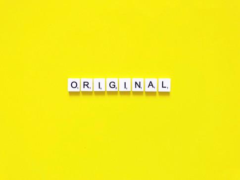 Don't Be Original. Be Unique.