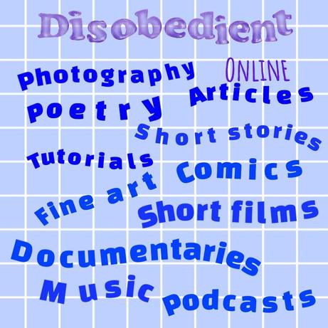 Introducing, Disobedient Online