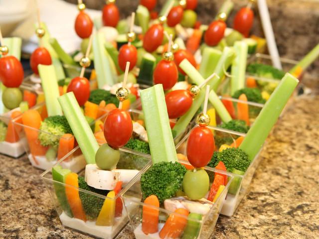 Fresh Veggie Cups