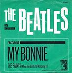 """שחרור הסינגל """"My Bonnie/The saints"""" בבריטניה."""