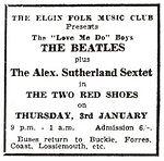 הופעה ב Two Red Shoes Ballroom, אלגין, סקוטלנד.