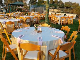 מגוון שולחנות וכסאות לכל אירוע