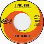 """השיר """"I Feel Fine"""" נמצא במקום הראשון בבריטניה, שבוע שישי (ואחרון) במספר."""