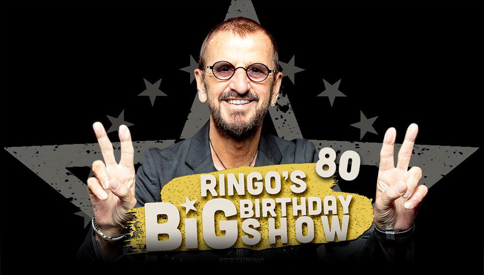 Ringo 80th birthday