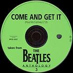 """הסינגל של הביטלס, Come and Get It, יוצא בארה""""ב."""