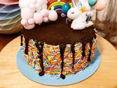 עוגת יומולדת 5 של עמליה