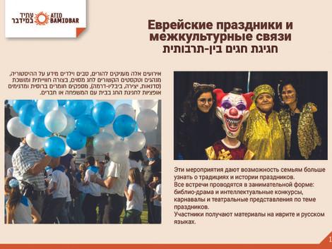 Еврейские праздники и межкультурные связи