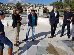 """Shahaf's mockup approved on the """"Jerusalem Gateway"""" project"""