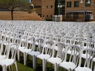 שירן אירועים השכרת כסאות ושולחנות לאירועים
