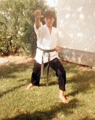 ניקולאס דיניאקוס. חגורה שחורה. גיל 13.